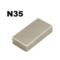 1 x Grade N35 Neodymium Strong Blocks Magnets 50mm x 25mm x 10mm
