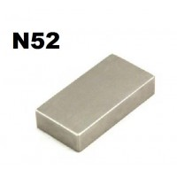 1 x Grade N52 Neodymium Strong Blocks Magnets 50mm x 25mm x 10mm