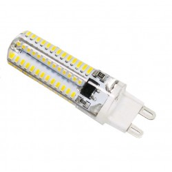 G9 104 LED 5W White Light Bulbs Clear Crystal Energy Cool  JC