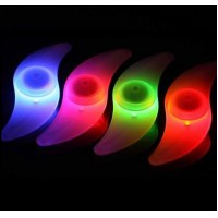 LED Wheel Spoke Bike Safety Tyre Lights Red Green Blue Bicycle