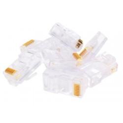 50 x RJ45 8 Pin Ethernet Cable End Connectors Plugs 8P8C