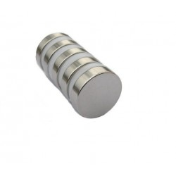 10 x Extra Strong Neodymium 20mm x 3mm Disc Cylindrical Magnets
