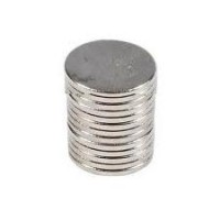 10 x Extra Strong Neodymium 10mm x 1mm Rod Disc Cylindrical Magnets